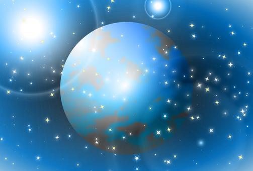 Starry sky view 129
