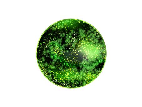 看不見的綠星