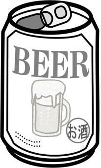 """""""罐裝啤酒""""圖標"""