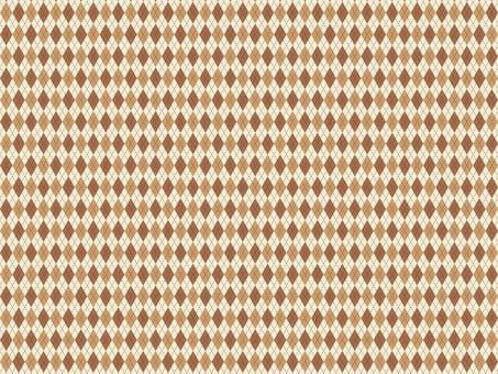菱形圖案檢查秋季背景棕色