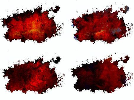 赤と黒のカッコイイテクスチャ素材