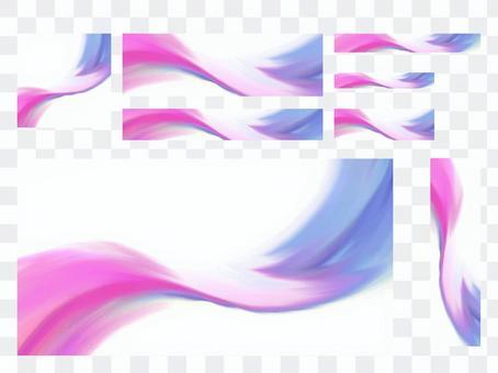 橫幅粉彩煙具001
