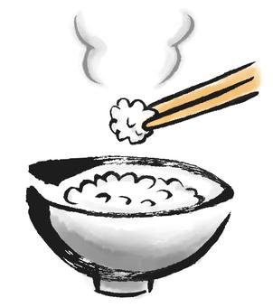 煮熟的米飯2