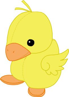 鸭填充动物