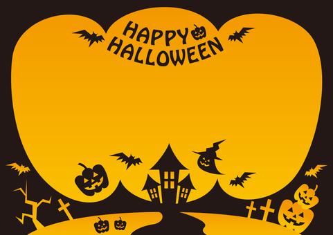 Halloween autumn october flyer