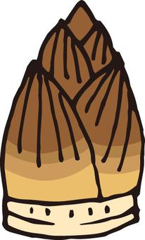 산채 (죽순 · 1 개)