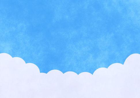 藍藍的天空圖