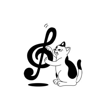 Tone Symbol Cat