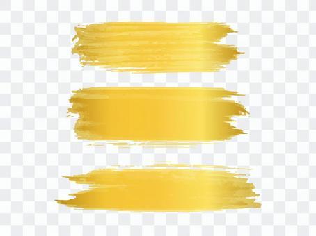 金色淡淡的刷線
