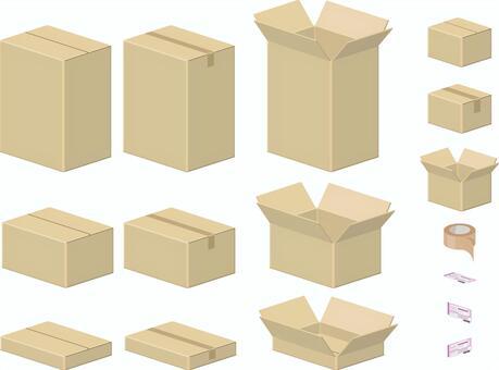 紙板箱各種套裝
