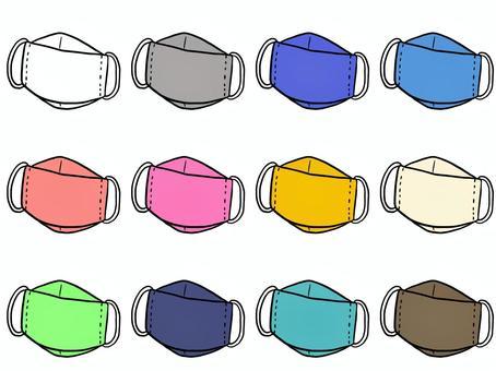 折疊式3D遮罩