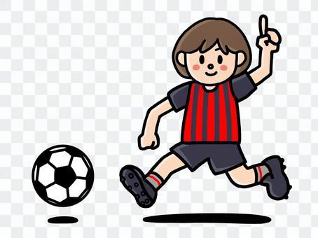 女子足球2