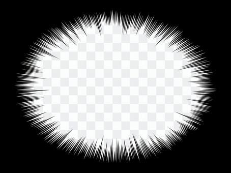 單色卡通表情白色固體閃光