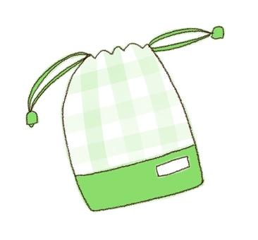 Drawstring purse 4 (color)