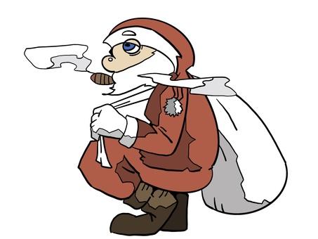 聖誕老人插圖聖誕節