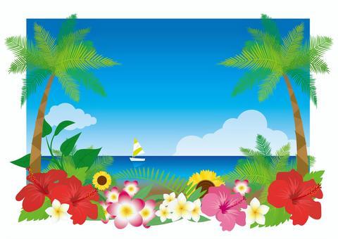 熱帶度假村框架