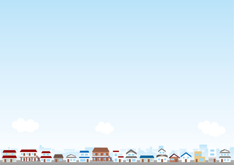 Cityscape Background Series Residential Area 2
