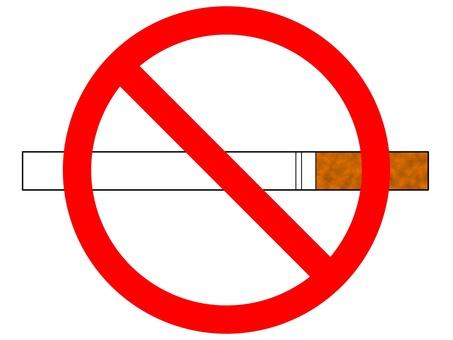 煙草 たばこ タバコ 禁煙 禁止 バツ