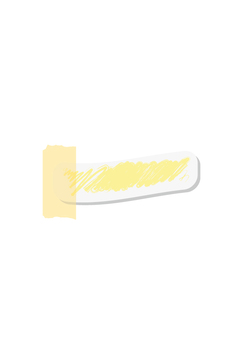 细长(黄色)