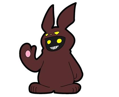 棕色鬼兔服裝