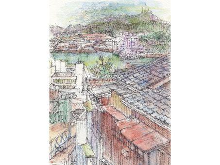 Takamiyama and private house png