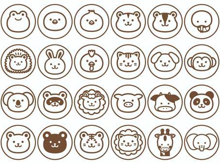 Animal_monochrome_circle icon