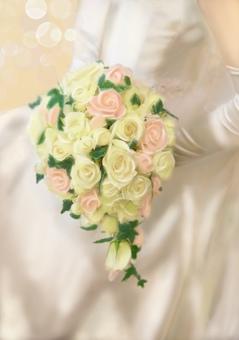 新娘捧花婚紗