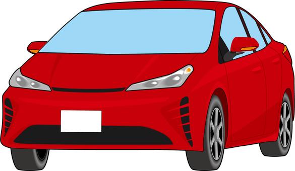 轎車21A_紅色