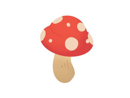 蘑菇紅色圖標