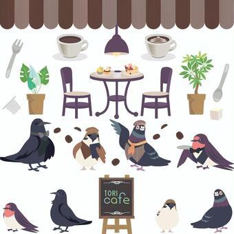 Birds and cafe? Set 01