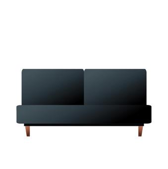 Black sofa 2