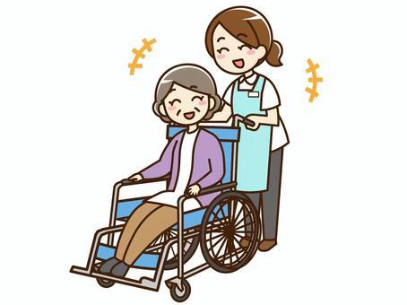 照顧者/照顧者/輪椅