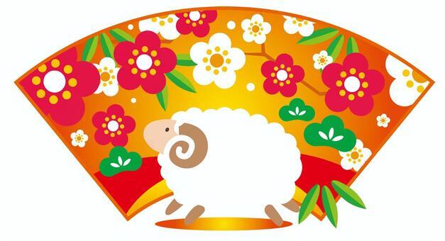 新的春天的羊的形象