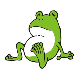 青蛙休息部分2