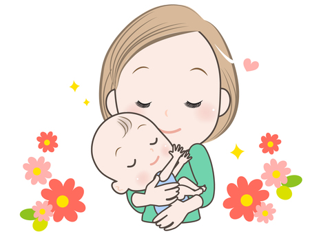 Mom and baby-1-I love you