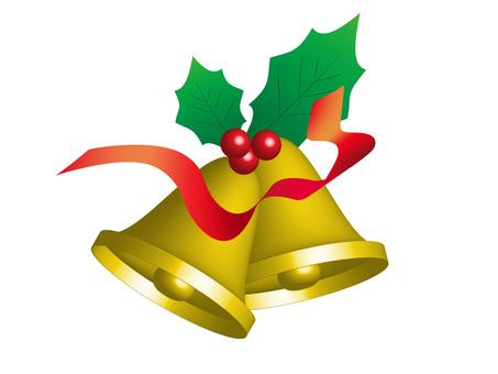三維 (3D) 聖誕鈴鐺