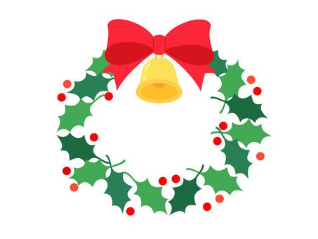 絲帶和鍾的聖誕節租約