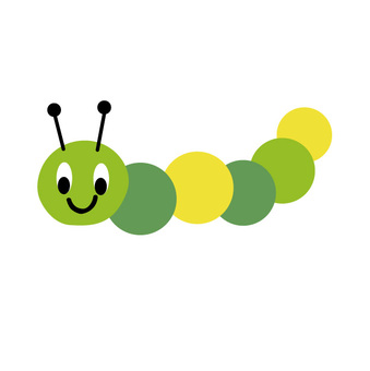 Green-colored colorful insects, yes