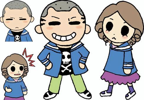 Child illustration set 1