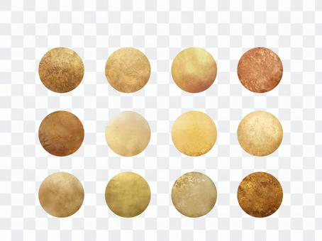 Gold icon collection