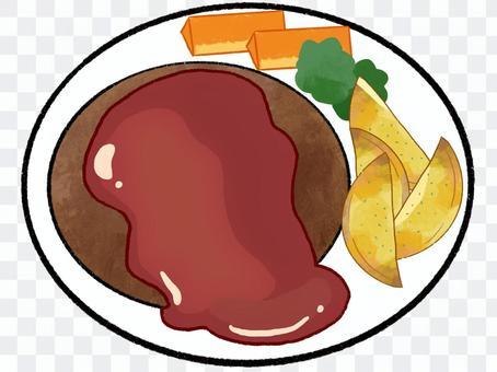 番茄醬番茄醬漢堡包