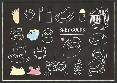 育兒嬰兒嬰兒用品黑板