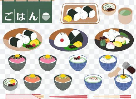 食物日本料理套裝3