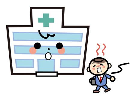 簡單的建築 - 醫院通過