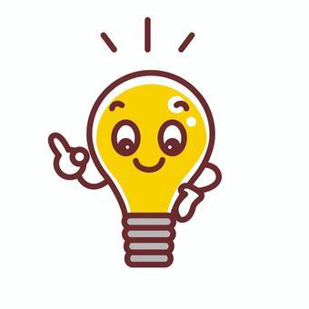 Light Bulb Inspiration Picarn Character