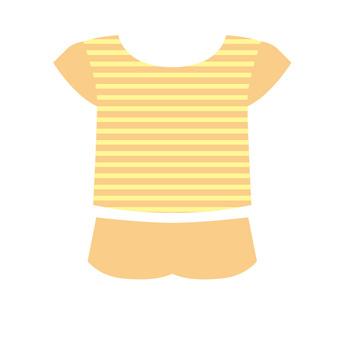 室內服裝(橙色)