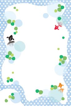 金魚明信片