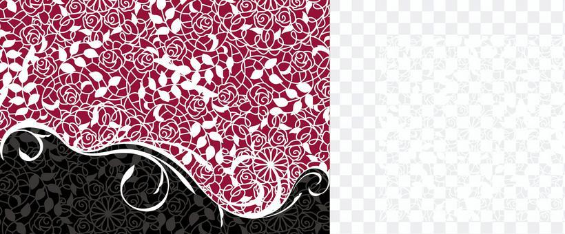 白色花邊圖案2