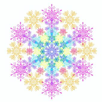 It is a material of snow flowers