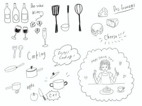 Life illustration